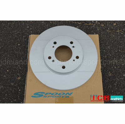 Spoon Sports Front Brake Rotor Slit Civic EK9 Integra DC2 98 Spec USDM DC2 Type R ALL 45251-EK9-000