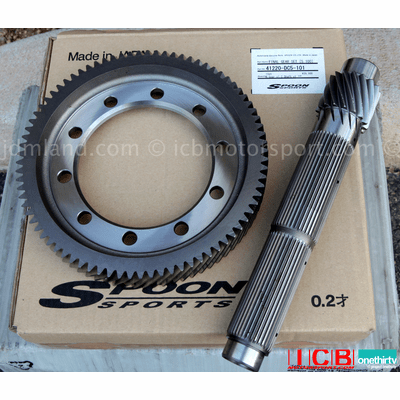 Spoon Sports K20A K24 5.1 Final Drive Kit 41220-DC5-101 EP3 DC5 CL7