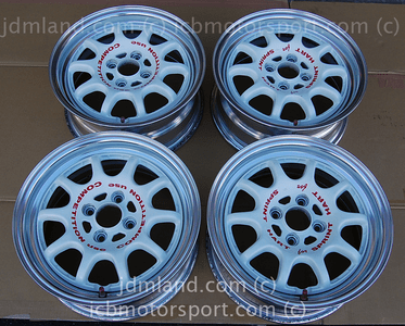"Sprint Hart CP 15"" White 4X100 +40 Offset Sold"