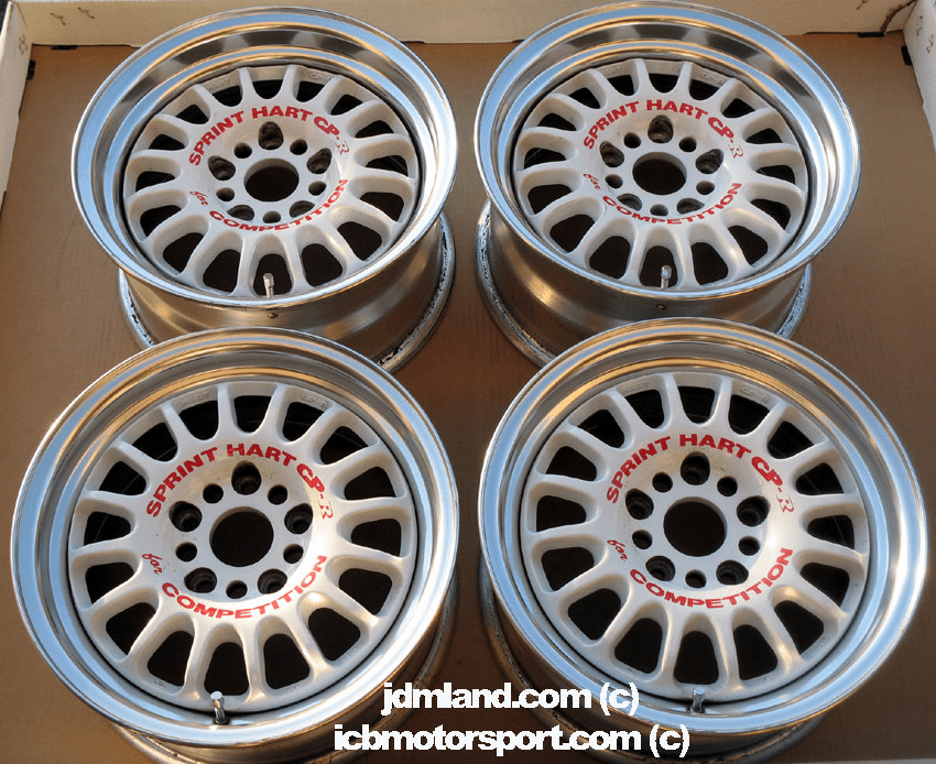 "Sprint Hart CP-R CPR 15""  5X114.3 - SOLD!"