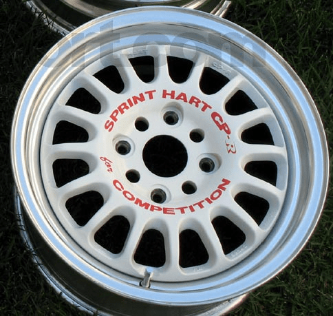 "Sprint Hart CP-R CPR 15"" White 4X114.3 - SOLD"