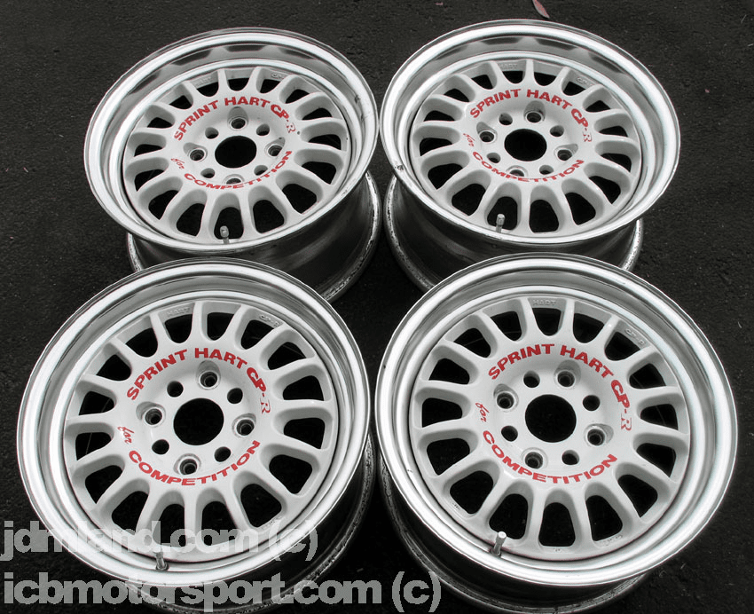 "Sprint Hart CP-R CPR 15"" White (4X114.3) - SOLD!"