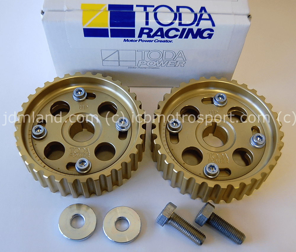 Toda Racing Adjustable Campulleys Cam Gears B16A B18C 14211-B16-001