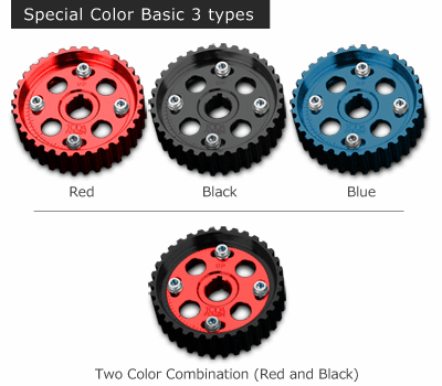 Toda Racing Adjustable Campulleys Cam Gears B16A B18C 14211-B16-001 Custom Color Pre-Order
