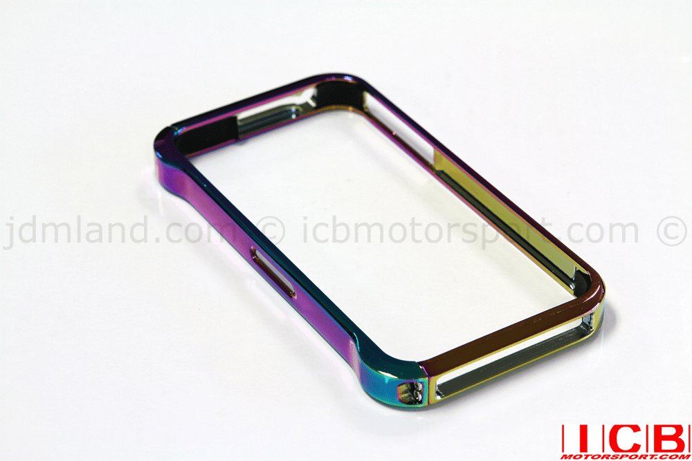 USDM ICB Motorsport Billet Aluminum Neo Chrome Apple iPhone 4/4S Bumper