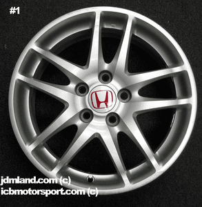 """Used DC5 ITR Type R Silver Wheels 17""""  5X114.3 - SOLD"""