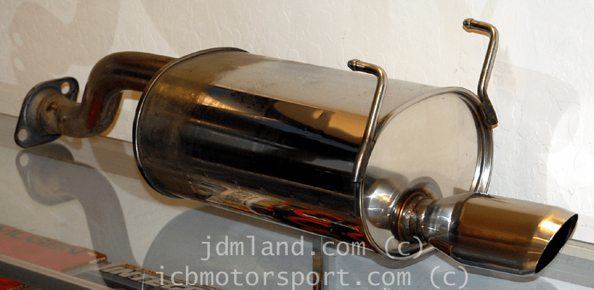 Used JDM Spoon Sports 1st Gen Civic EG6/EK9 Del Sol EG2 Silencer Street Type Sold