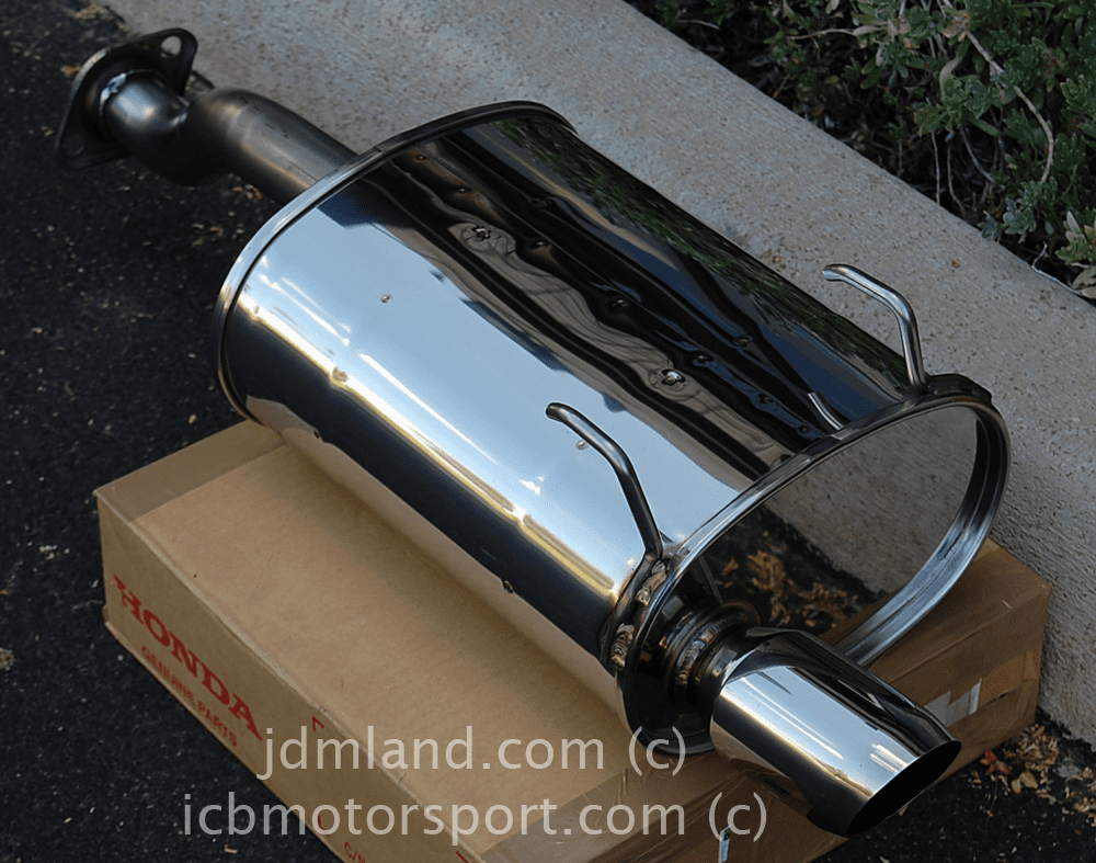 Used JDM Spoon Sports Civic EG6 EK9 Hatchback 92-00 Tail Silencer Street Type Mint SOLD