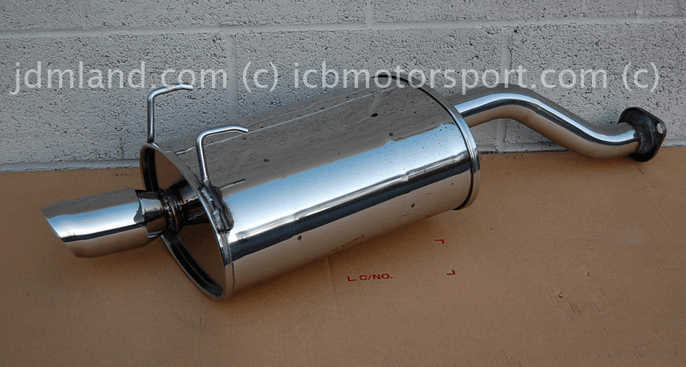 Used JDM Spoon Sports Civic EG6/EK9 Hatchback 92-00 Tail Silencer Street Type Sold