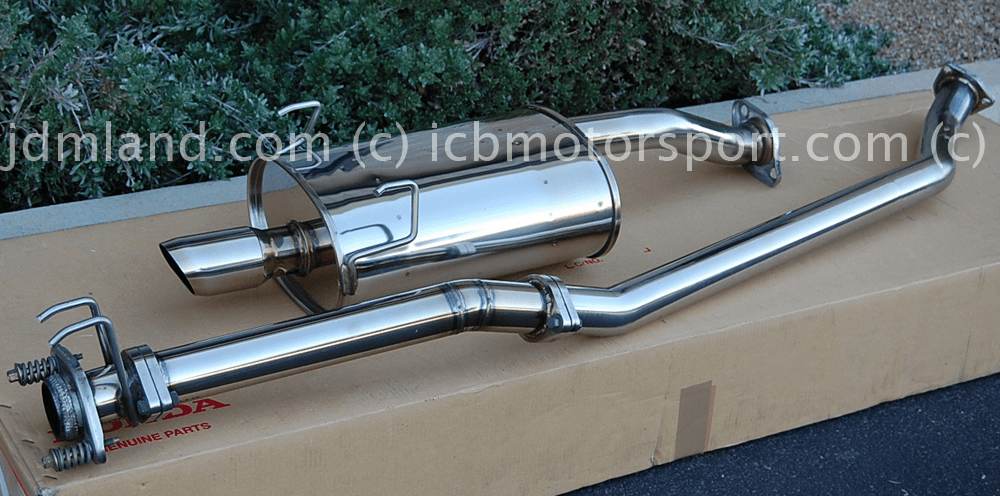 USED JDM Spoon Sports DC5 RSX Integra ITR 02-06 Tail Silencer Street Type & B Pipe