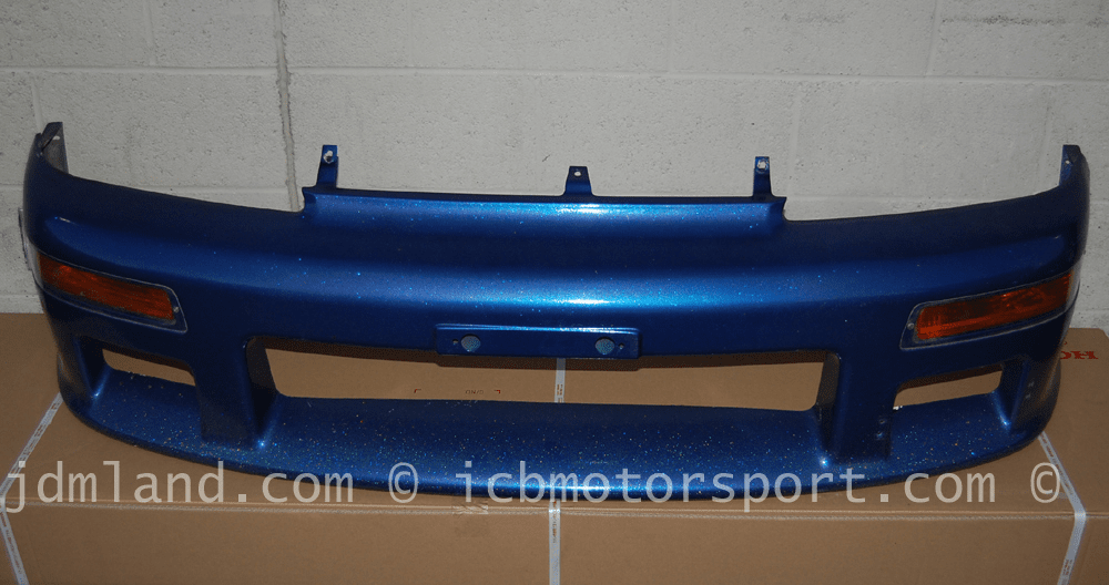 Used Mugen JDM CR-X EF8 90-91 Bumper w/ Amber Turn Signals And Acrylic Covers Sold