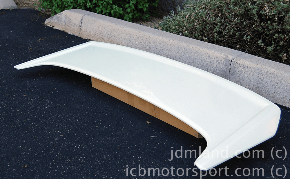 Used Mugen Prelude 97-01 BB6 Rear Spoiler NH624P Pearl White Mint Sold