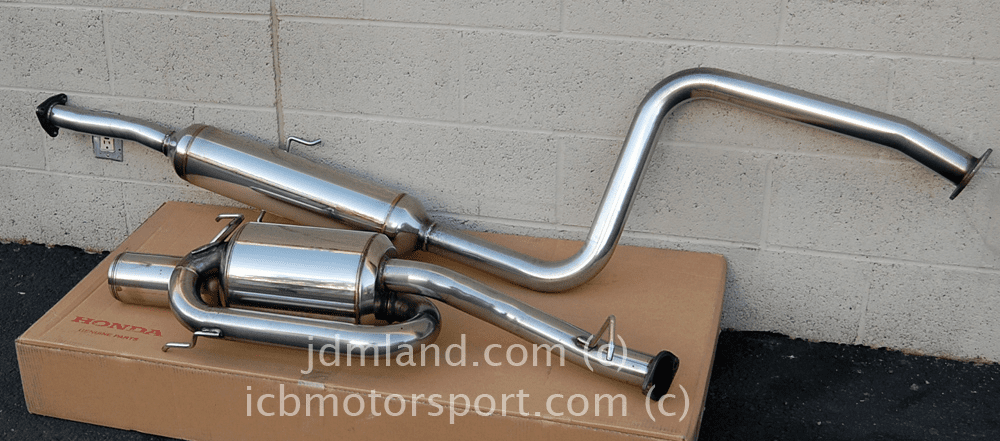 USED Mugen Sports Exhaust System Twin Loop BB6 Prelude Type S 18000-XGL-K0S0 Sold