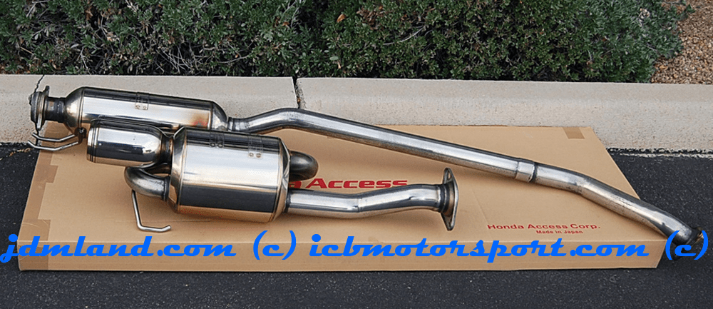 USED Mugen Sports Exhaust System Twin Loop Civic Type R EP3 18000-XK2-K0S0 Sold