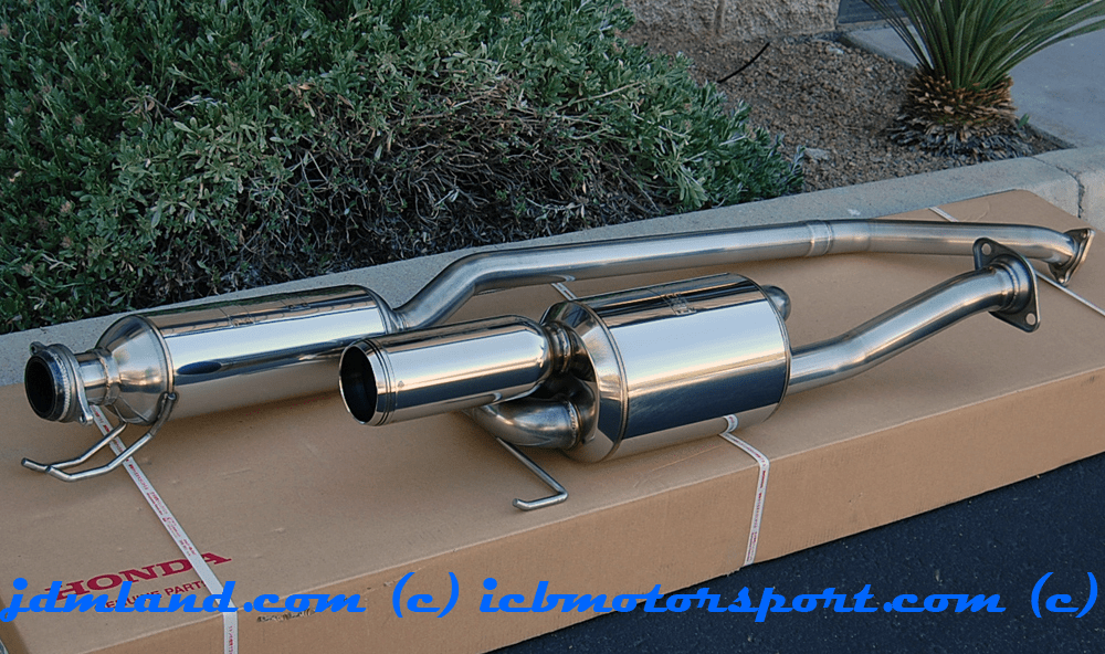 USED Mugen Sports Exhaust System Twin Loop RSX Type S 02-06 18000-XK5-K0S0 Mint Sold
