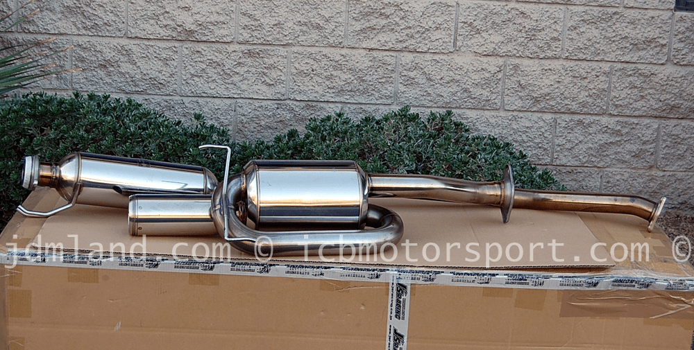 Used Mugen Sports Exhaust System Twin Loop RSX Type S 02-06 18000-XK5-K0S0 Sold
