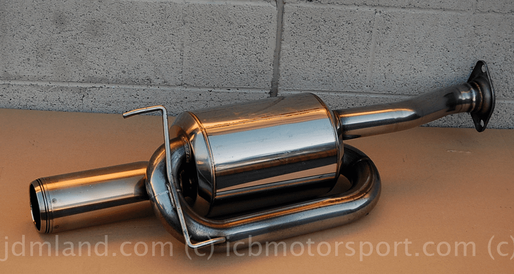 USED Mugen Sports Twin Loop Muffler Silencer RSX Type S 02-06 Axle Back Only Sold