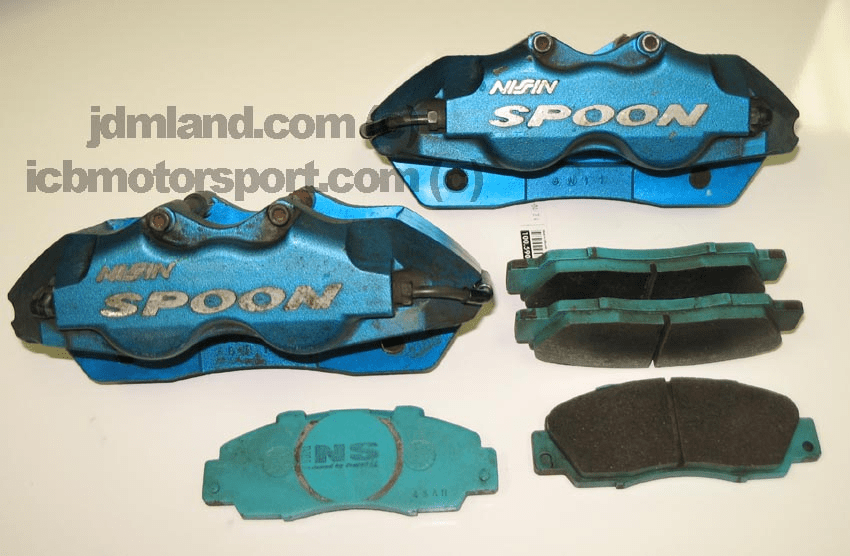 Used Spoon Sports 4-Pot Aluminum Caliper Set w/ Pads SOLD!