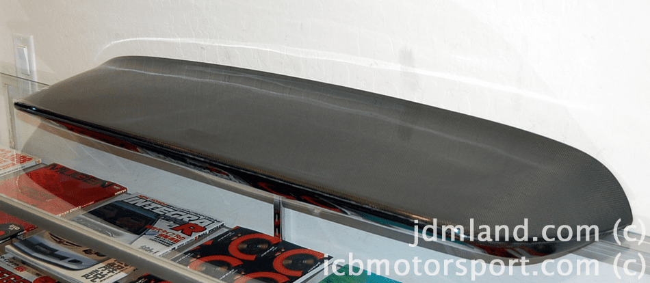 Used  Spoon Sports Carbon Spoiler Duckbill EK4 Civic 96-00 HB SOLD