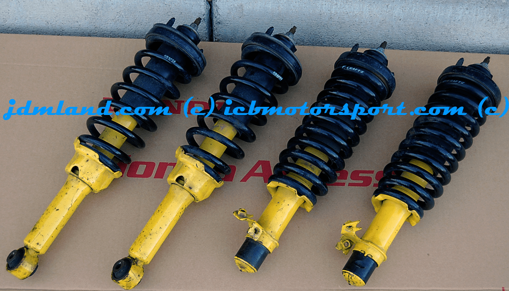 USED Spoon Sports JDM DC2 Integra Shocks and JDM Craftz Springs Sold