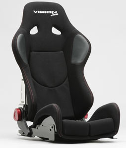 Vision IMUS Race Seat FRP RED/BLACK - Discontinued!
