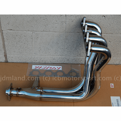 Vision Technica B16A 4-2-1 Stainless Steel Header