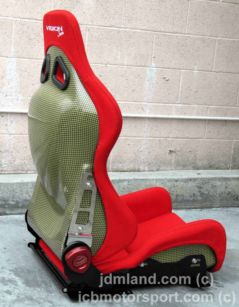 Vision Technica Carbon Kevlar Imus Race Seat (Red) Discontinued!