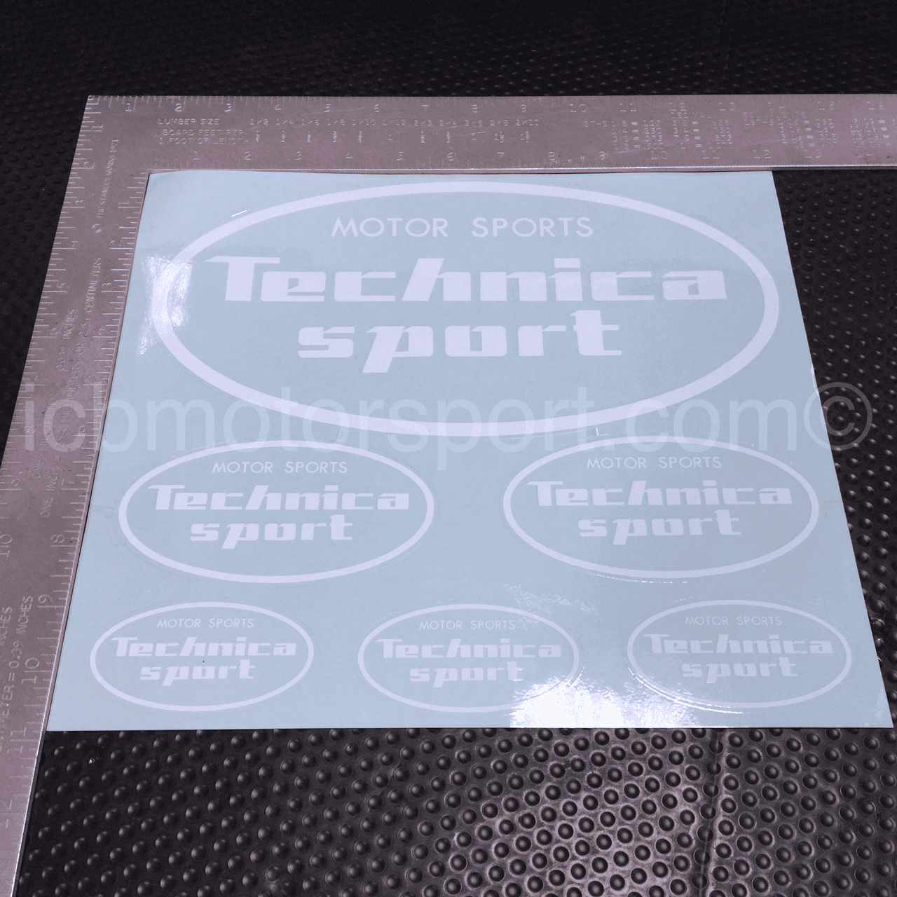 Vision Technica Motor Sports Technica Sport decal sheet