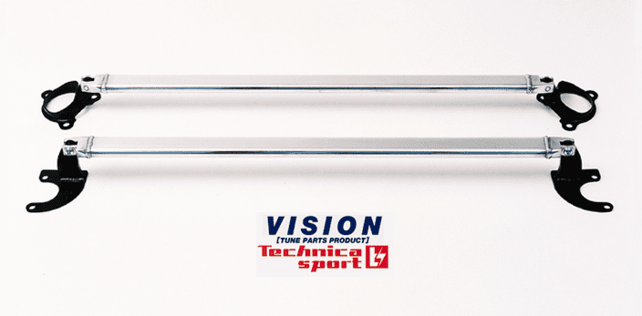 VISION Technica Rear Strut Bar - Civic EF8/EF9 SiR Integra DA6