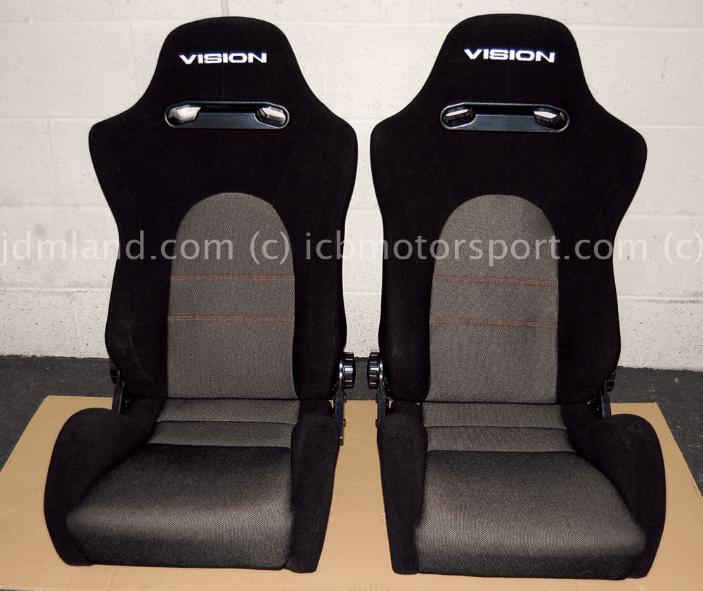 Vision Technica Shelta Seat Set Black Type HS  - Discontinued!
