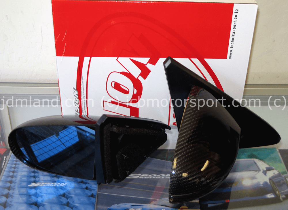Vision Technica Type MC Aero Mirrors - Honda Civic EK4 EK9 96-00 2/3Dr