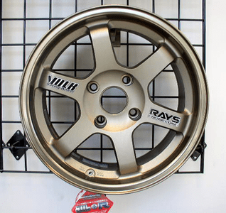 Volk Racing TE37 Bronze 15X7 +0 Offset AE86 - SOLD