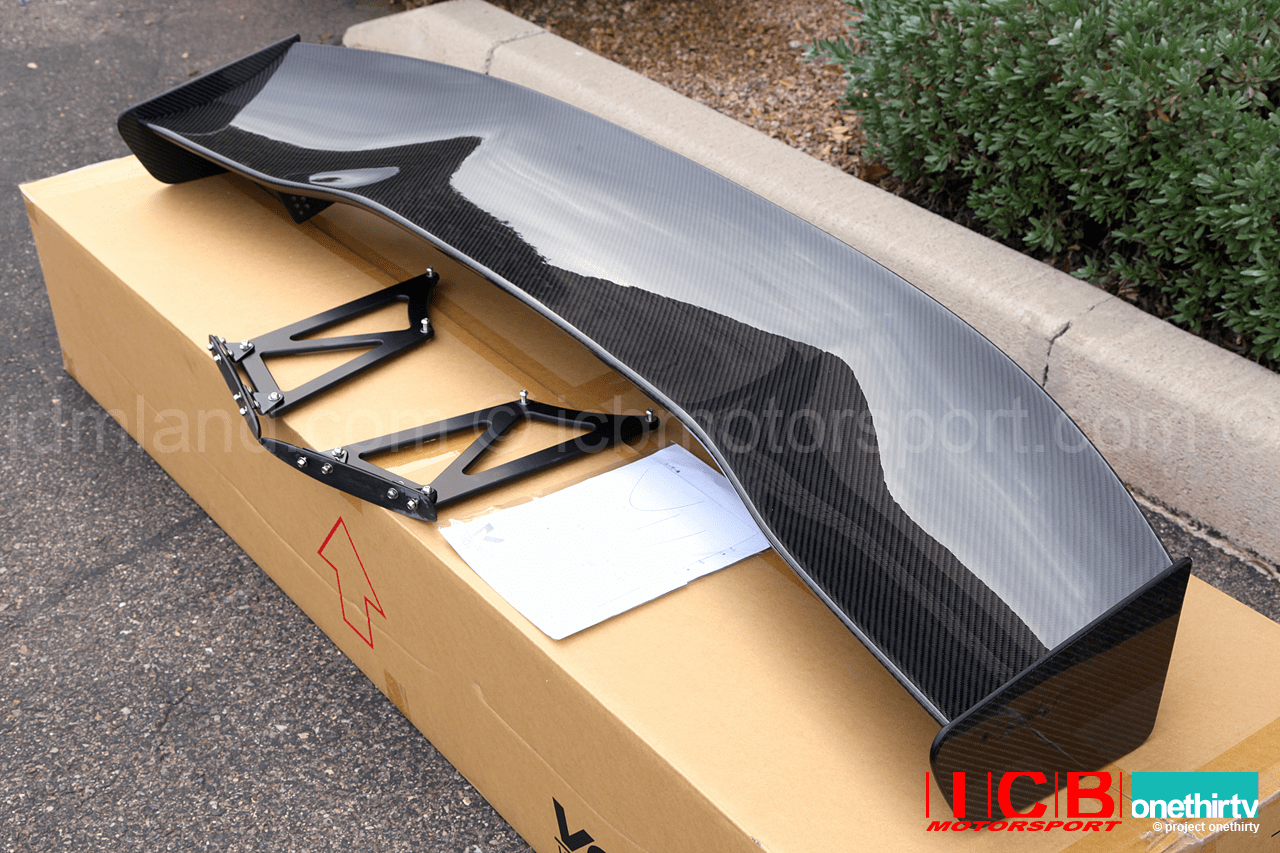 Voltex Racing Suzuka Japan 3DGT Carbon Fiber Spoiler Integra DC2 1500mm Pre-Order