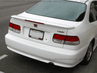 WINGS WEST EM1 99-00 Si Deck Lid Flush Mount Spoiler with LED
