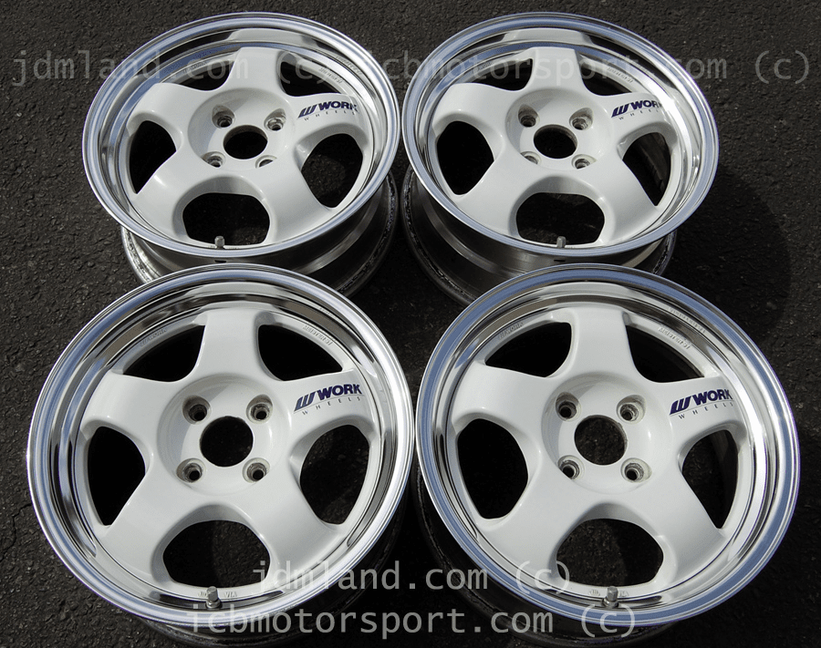 WORK MEISTER S2 2PIECE 15x6.5 +39 4X100 - SOLD!