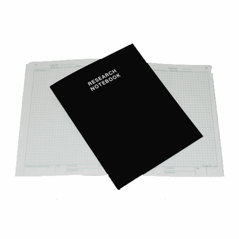 Student Science Research Notebook