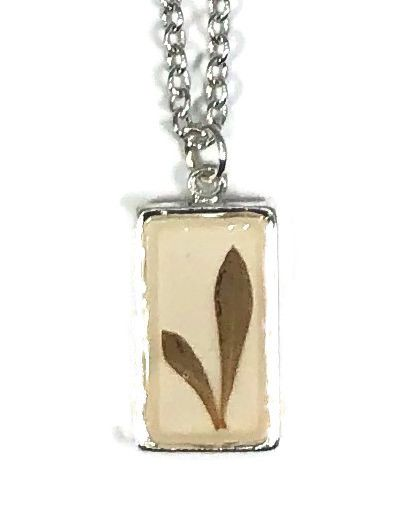 Barberry SM Rect Necklace