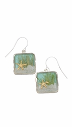 Sand Dune Sq Earrings