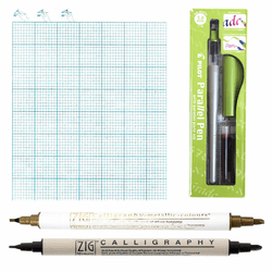 Broad Edge Calligraphy Kit