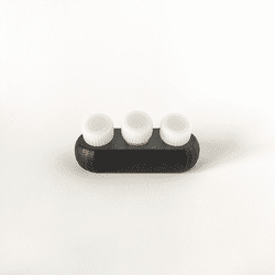 Creative Ink Holders Inkwell Éclair, Black