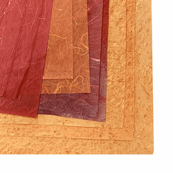 Handmade Paper Mystery Pack, Warm Colors