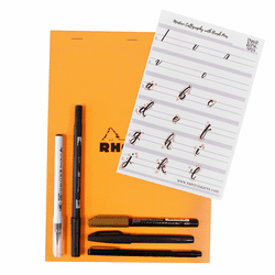 Modern Brush Lettering Kit