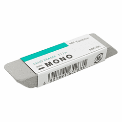 Tombow MONO Sand Eraser for Ink/Colored Pencil