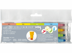 Zig Clean Color DOT Marker, Set of 4