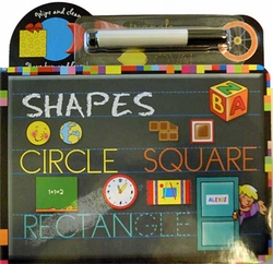 Wipe and Clean: Shapes