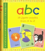 A-B-C 26 Jigsaw Puzzles from A-Z (English)