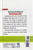 Business Dealings by Installments
