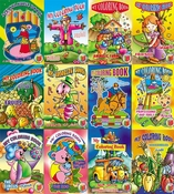 Color: My Coloring Book - Set of 12 Large Books