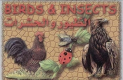 Flash Cards - Birds and Insects - English and Arabic