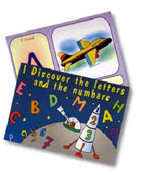 Flash Cards - I Discover Letters and Numbers (English)